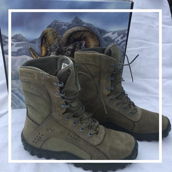18829d5af08 ROCKYs brand men's Camo S2V special ops boots